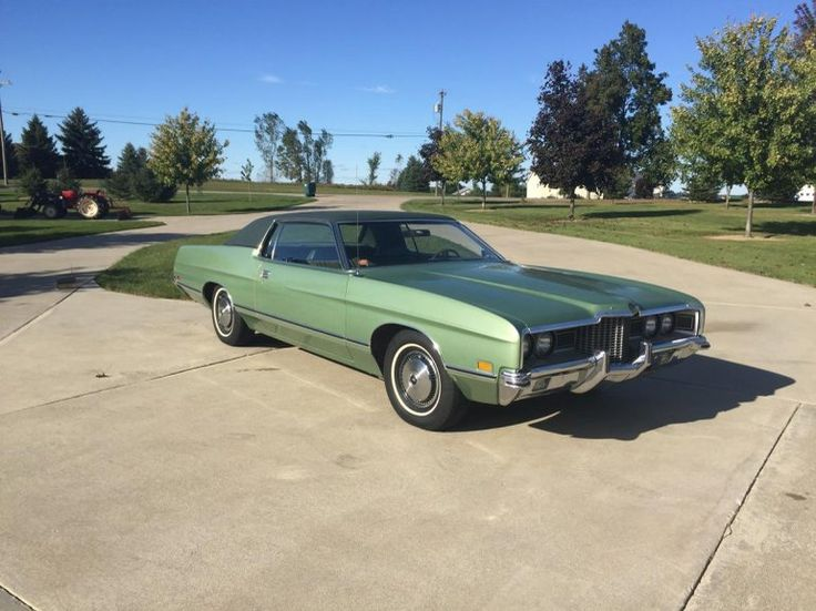 1971 Ford Galaxie 500 Two Door Hard Top With Rear Vent Sport Window & 1034 best CCC FORD/EDSEL images on Pinterest | Vintage cars ... markmcfarlin.com