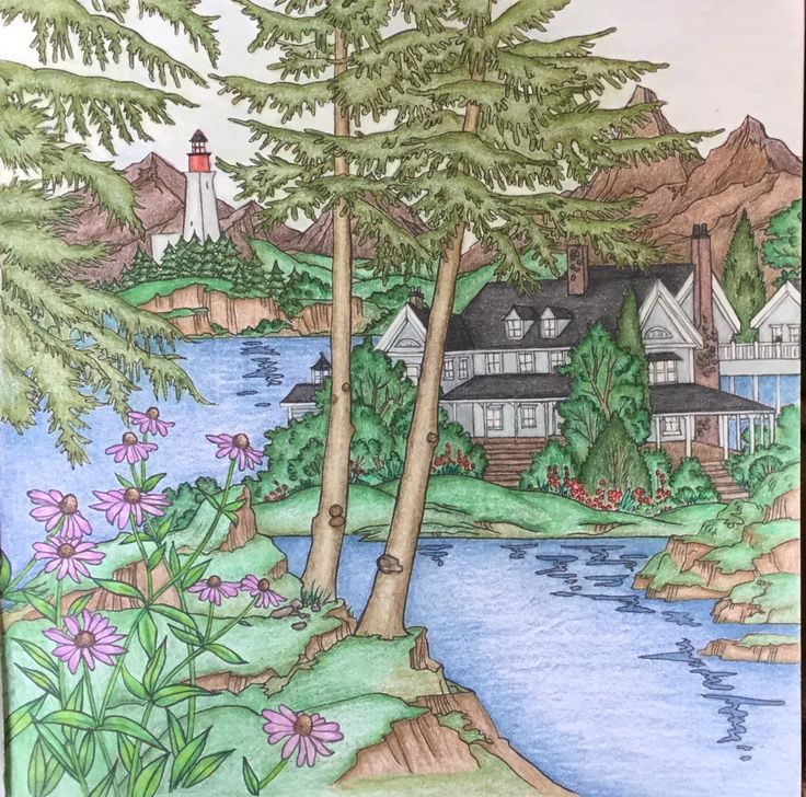 57 best My finished coloring pages images on Pinterest Prismacolor - best of coloring pages watering plants