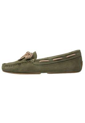 ZAHARA - Zapatos náuticos - olive/sand