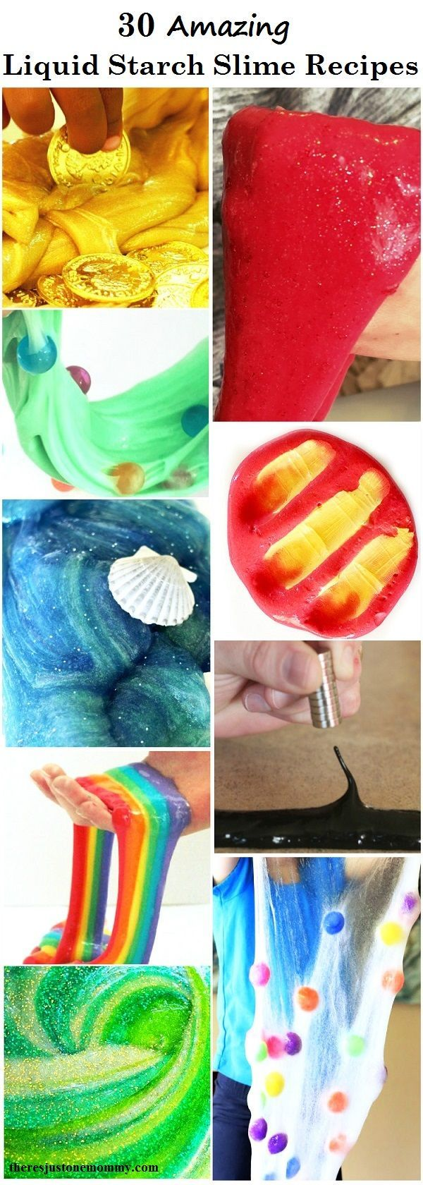 liquid starch slime recipes: 30 amazing liquid starch slimes you don't want to miss; find out how to make slime with starch and glue