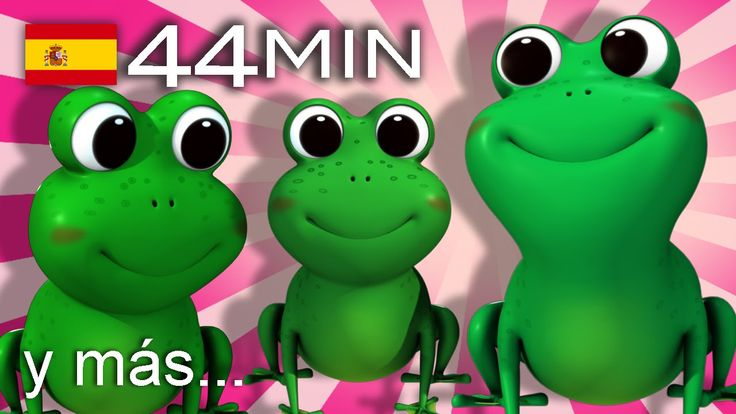 Cinco ranitas    Y muchas más canciones infantiles   ¡44 min de LittleBa...