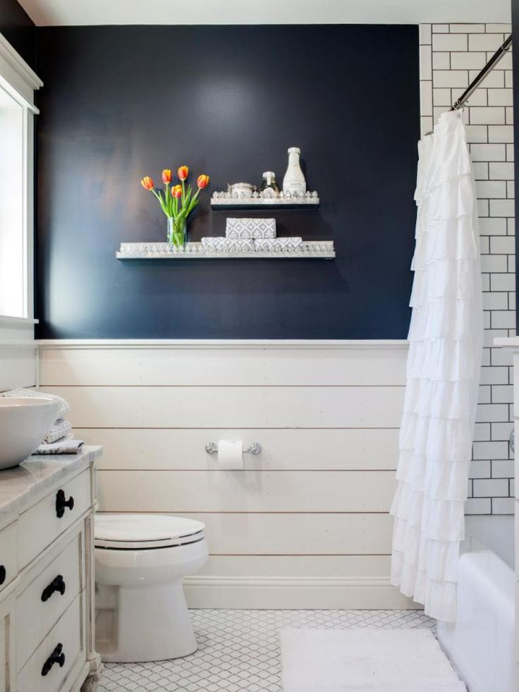 Blue And White Bathroom 25+ best navy blue bathrooms ideas on pinterest | blue vanity