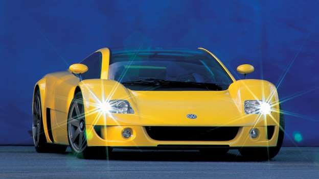 Giorgetto Giugiaro's brief was simple: build a mid-engined car to accommodate a W12 engine and VW's ... - Volkswagen