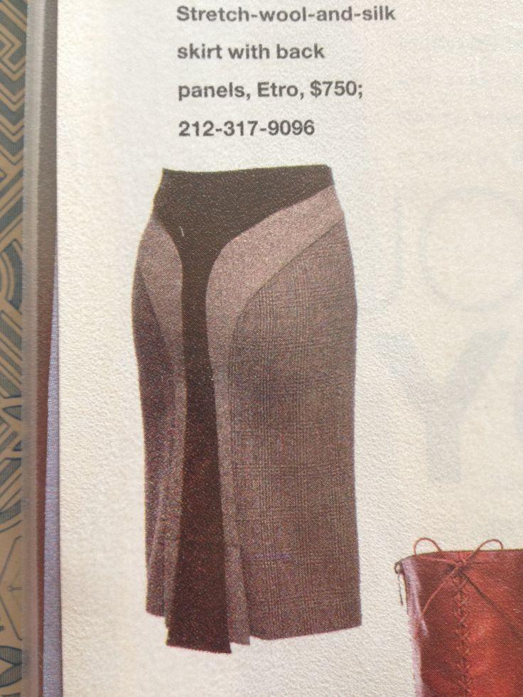 Etro skirt.