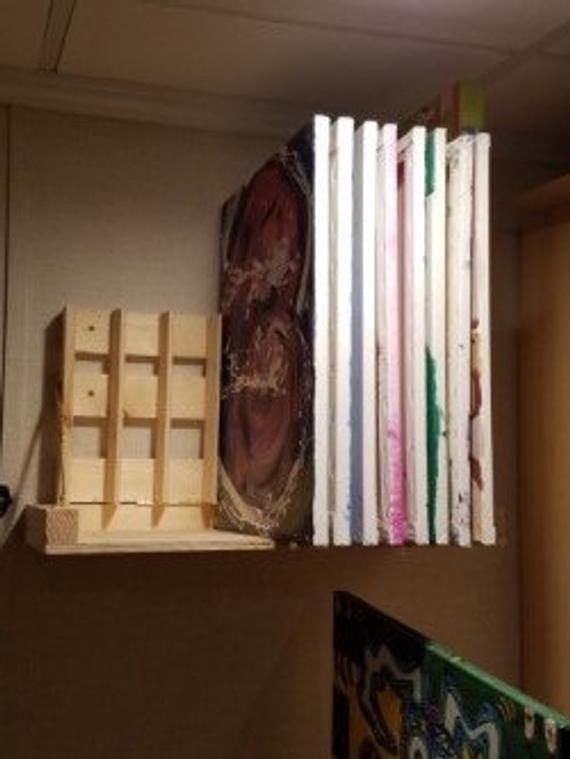 12 Deep X 24 Wide Art Storage Rack Art Storage Art Studio Storage Art Studio At Home