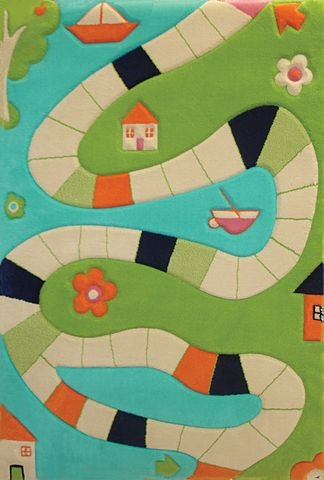 IVI Play Rug:  Playway Turquoise