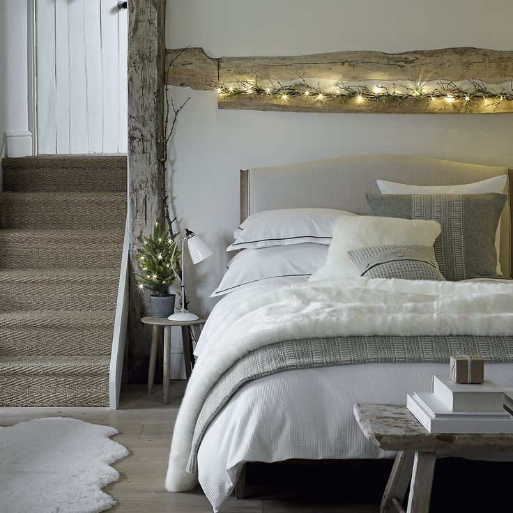 Hoxton Waffle Bed Linen Collection   Bed Linen   Bedroom   The White Company UK