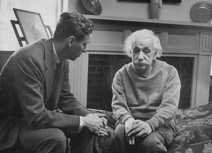 Hoax: This has been debunked before, but this photo just won't go away. The 1948 picture doesn't show Albert Einstein with his therapist. He is meeting with Cord Meyer, Jr., president of the United World Federalists. Meyer, a CIA operative, was merely discussing world politics with the famed scientist.