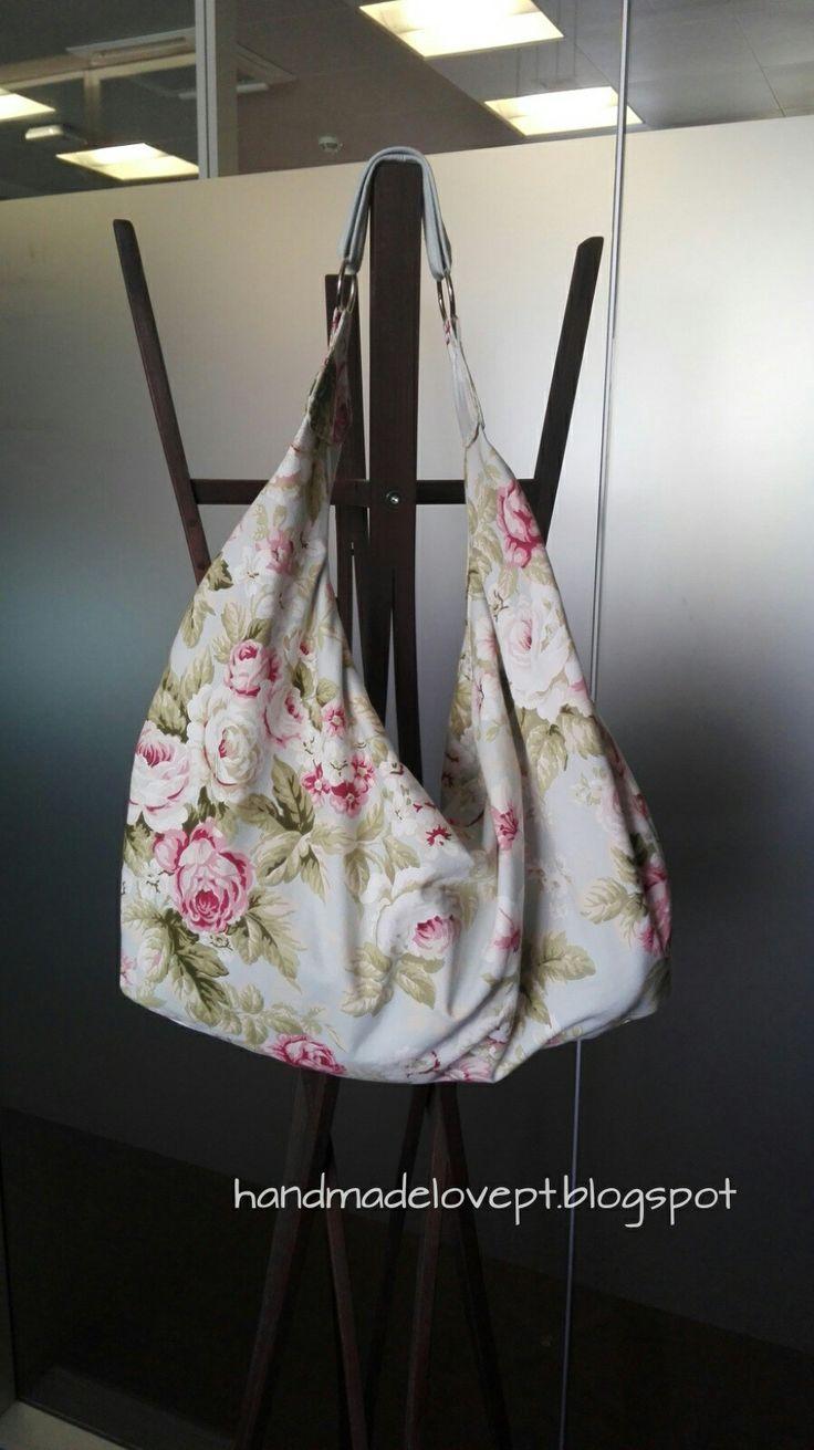 Hobo bag, sewing project / projecto de costura
