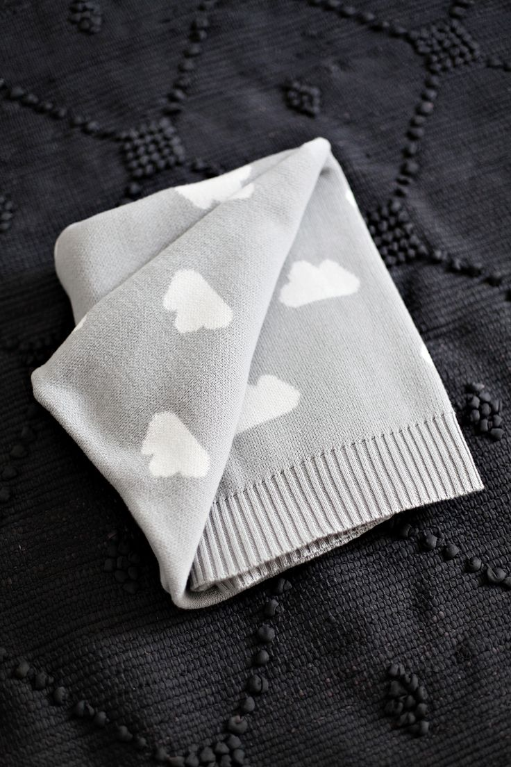 Jamie Kay Cotton Cloud Blanket - Light Grey