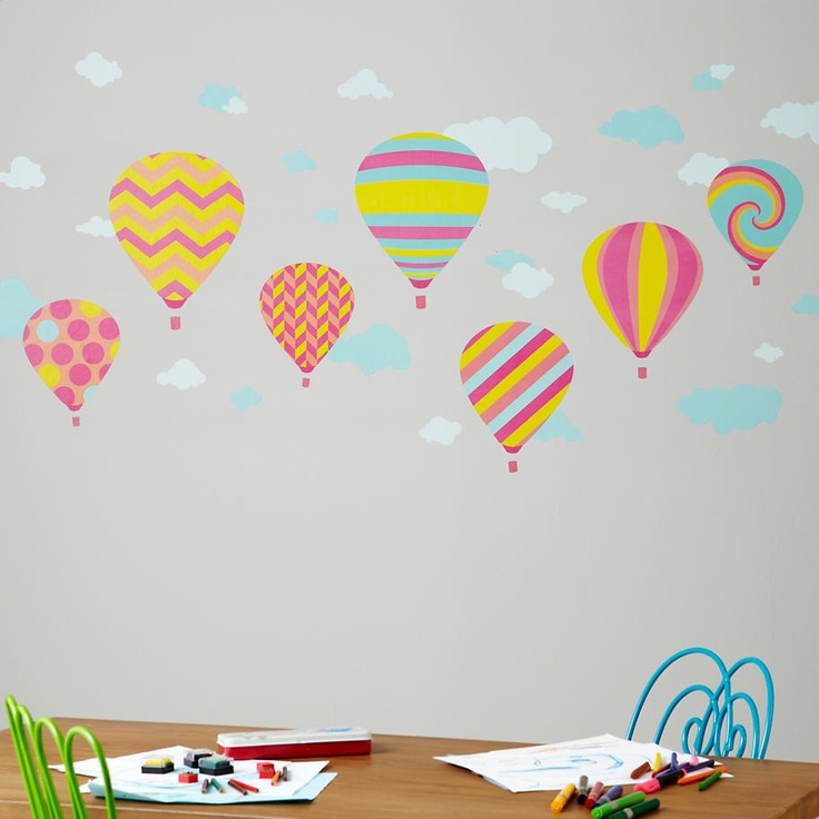 ... Hot Air Balloon Wall Decal. The ...