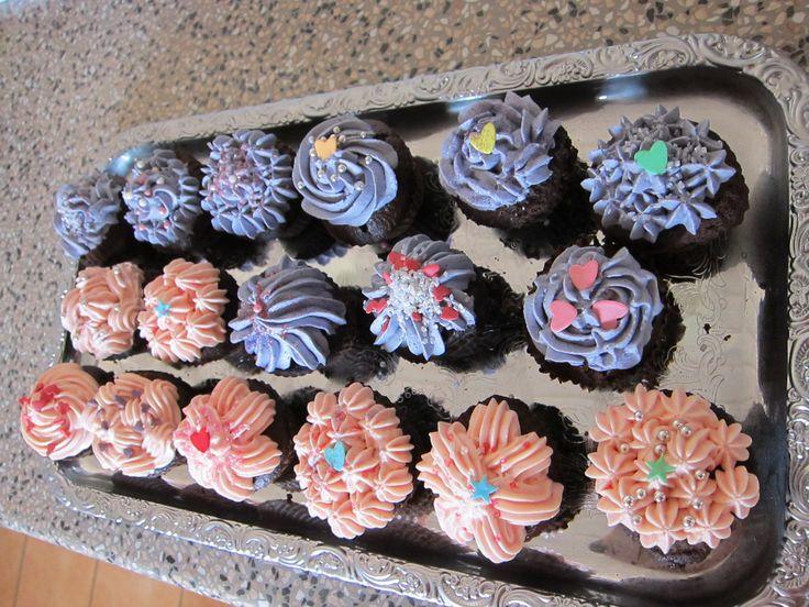 kop cakes til børnehaven i Gl.Egå