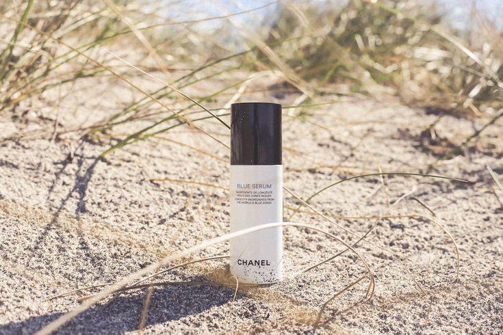 Blue Serum Chanel  beauty routine