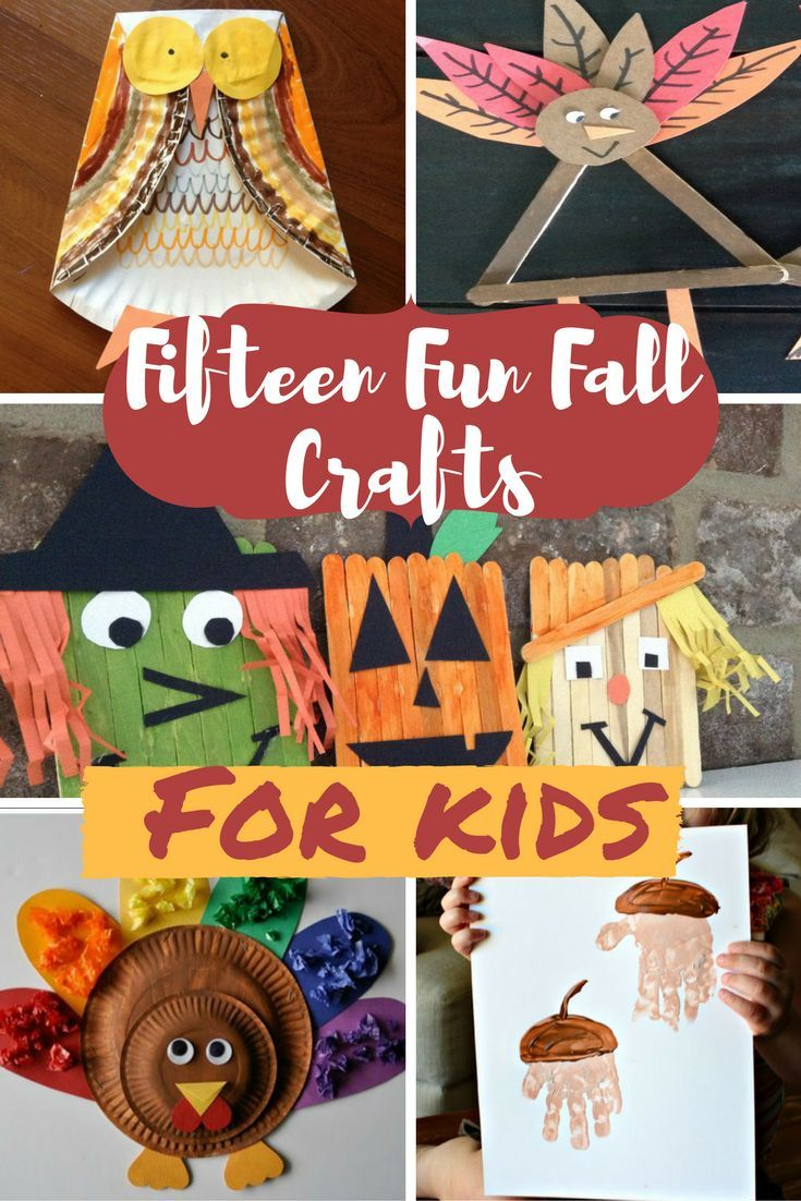 15 Fall Crafts for kids! So many wonderful ways to inspire creativity! A few…
