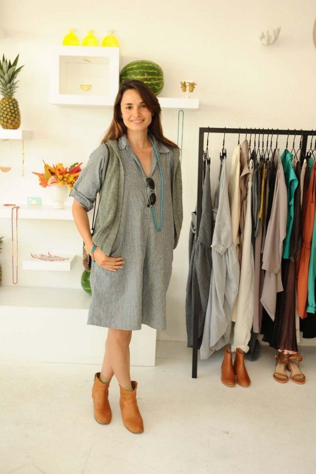 Mia Maestro at our TROPICALISMO launch in LA, via Vogue Australia.
