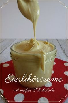 Ingredients for the egg liqueur cream: (for 1 glass) 200g White Chocolate 60g Egg …   – leckere Rezepte