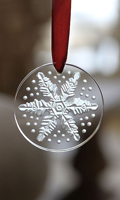 Lalique Christmas Ornament