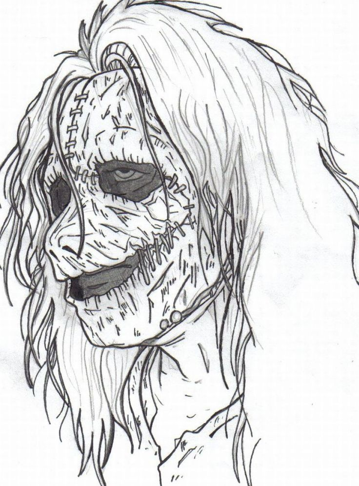 Halloween Coloring Pages Advanced : Images about adult horror coloring pages on pinterest