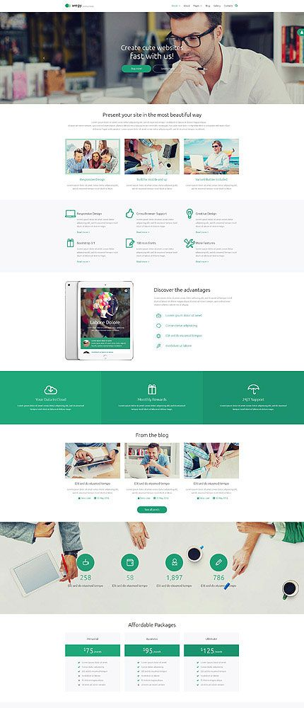 Business Journal Joomla Theme