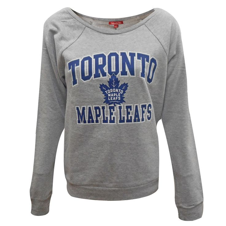 Toronto Maple Leafs Mitchell & Ness Ladies Kill The Clock Crew