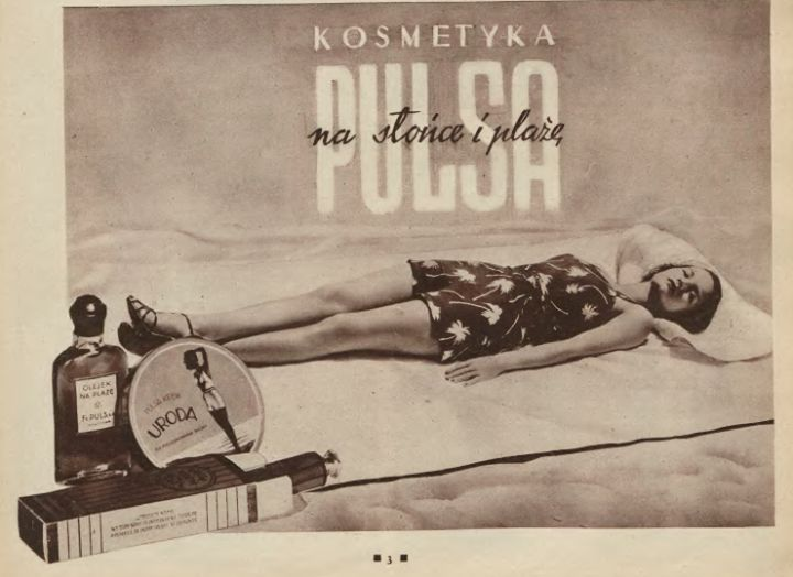 Vintage advert from Poland (1936) #retro #blackandwhite