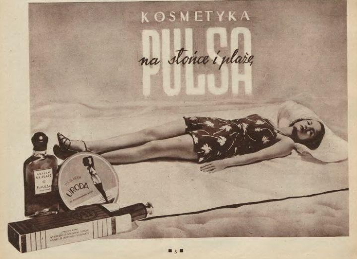 Vintage advert from Poland (1936) #retro #blackandwhite