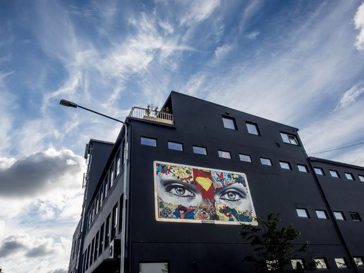 The Aftenblad Wall - Sandra Chevrier / Photo © John Rodger