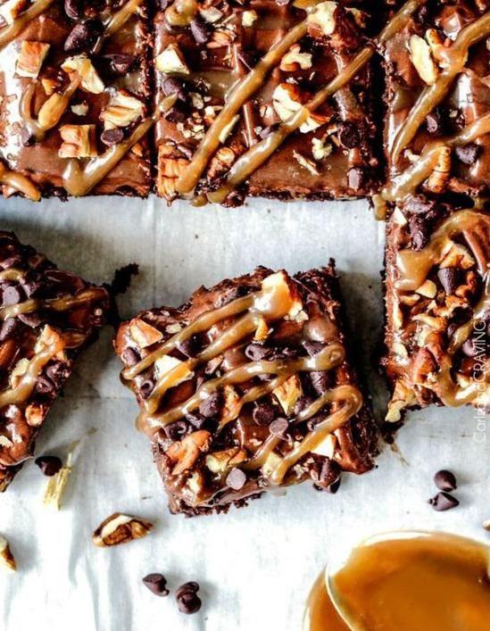 Brownie américain : Nos meilleures idées de brownies américains - Elle à Table