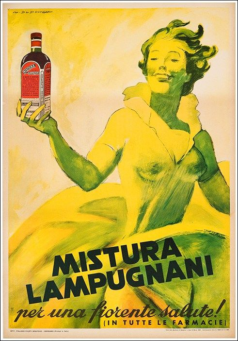 Mistura Lampugnani / Dudovich Marcello Formato Verticale Paese Italia Anno 1954