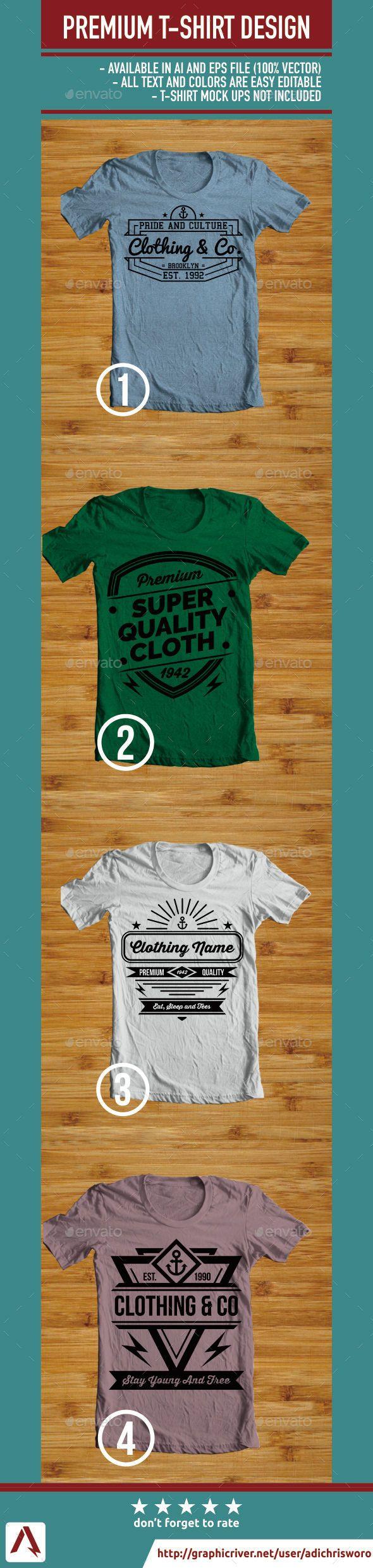 Black t shirt vector ai - Premium T Shirt Design Templates Vector Eps Ai Download Http