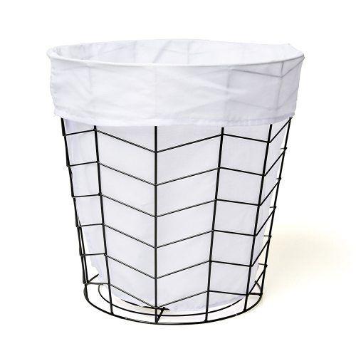 Riley Wire Basket Black