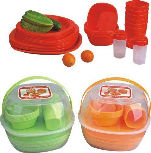 Farbe rot Picknick Set Geschirrset Camping Geschirr Picknickset Korb für 4 Personen 36 Teile GMMH http://www.amazon.de/dp/B00B5D8FMQ/ref=cm_sw_r_pi_dp_fS1exb0WR5PW2