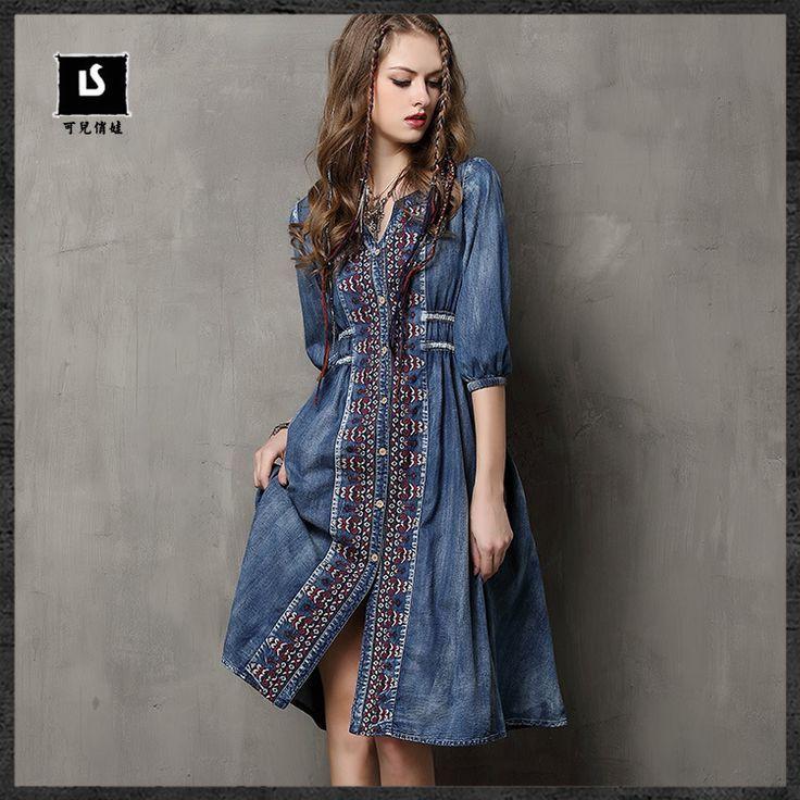 Cheap Boho de diseñadores famosos vestidos marca mujeres ' s vestido vestido de…