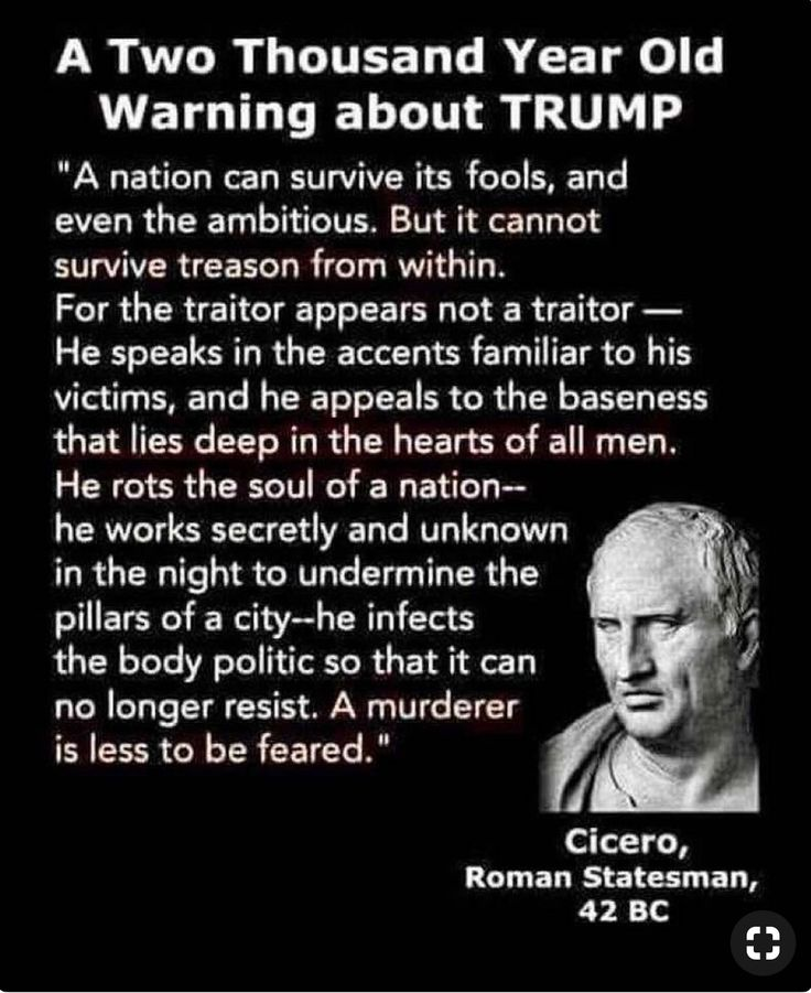 How in the world this quote means something when he, Cicero Scipio Africanus stole the land and named it after him, this the mam that stole a continent and renamed in his honor.