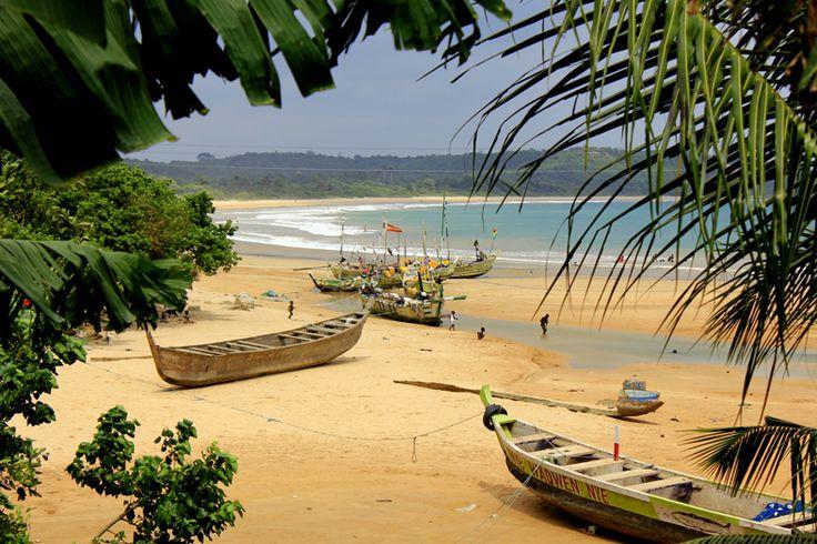 Busua Surf Camp, Ghana