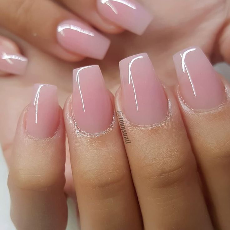 #acrylic #simple #nr #nur #schöne #shortails    – Gel Nails