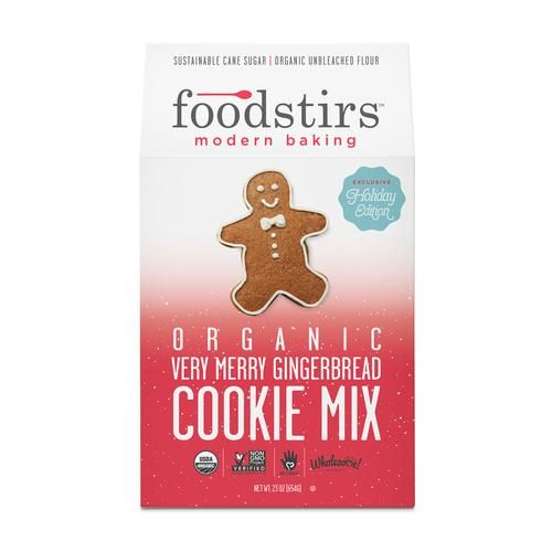 Organic Very Merry Gingerbread Cookie Mix