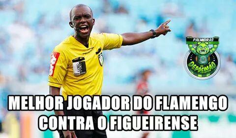 Zuando o Flamengo, Melhor jogador do flamengo no jogo contra o Figueirense…