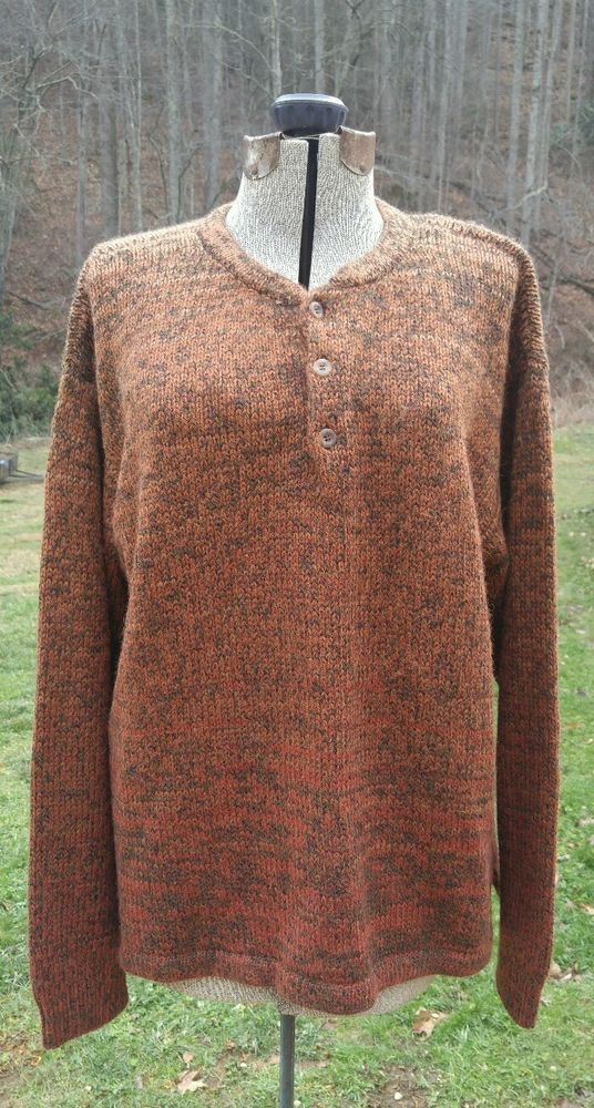 The Territory Ahead Mens Knit Sweater Alpaca,Wool,Acrylic Blend Size XL V-Neck!! | Clothing, Shoes & Accessories, Men's Clothing, Sweaters | eBay!