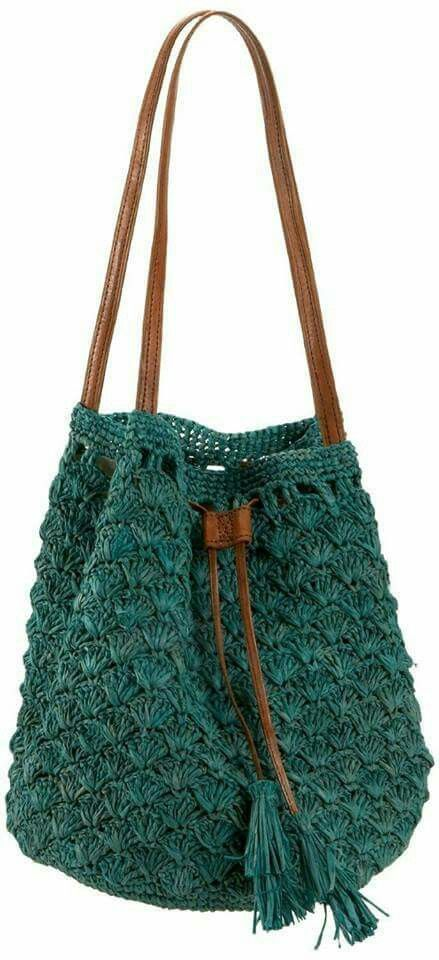 Love the color and pattern of this bag. A definite future project