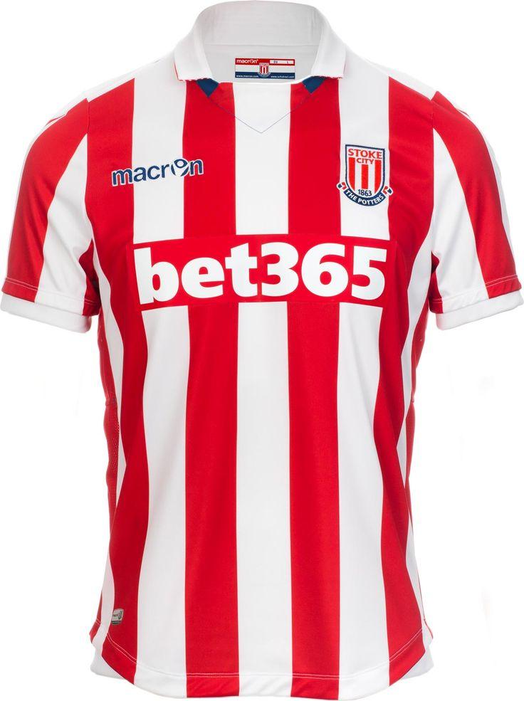 Stoke City FC (England) - 2016/2017 Macron Home Shirt
