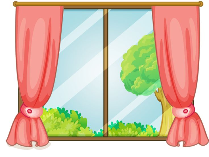 132 best home windows fence clipart images on pinterest for Window design cartoon