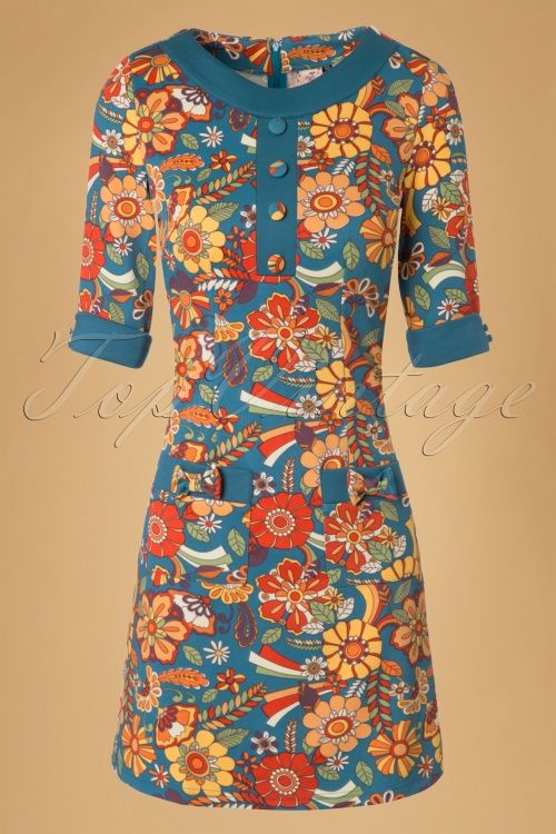 Dancing Days by Banned 70s Floral Dream Dress 106 39 19785 20161111 0003W