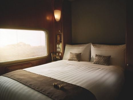 Platinum cabin:The Ghan.