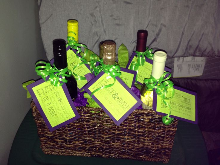 Bridal Shower Wine Gift Basket Ideas : wine bridal shower gifts wine bridal showers basket ideas shower party ...