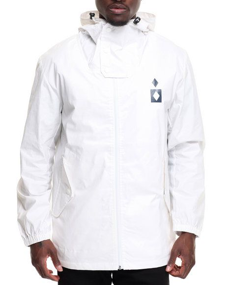 Find Marquise Waxed Raincoat Men's Outerwear from Diamond Supply Co & more at DrJays. on Drjays.com