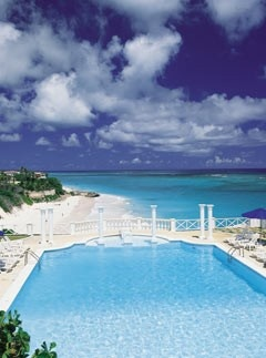Miss this place! The infinity pool at the Crane Resort in Barbados.  Incredible!