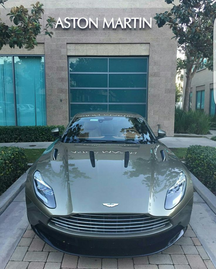 Aston Martin dealership.