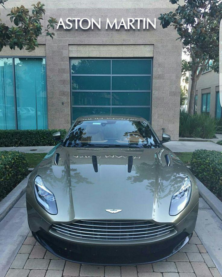 Aston Martin dealership.