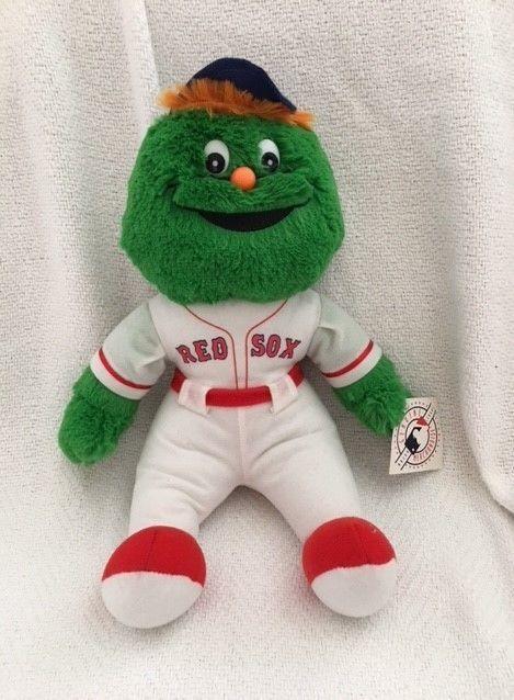 Boston Red Sox Mascot Wally Green Monster Large Stuffed Plush 15